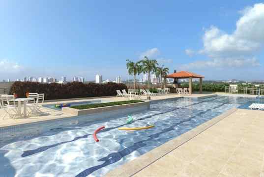 Imagem meramente ilustrativa piscina adulto com raia de 25m
