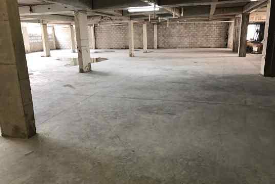 Execução de piso da garagem do pavimento Superior