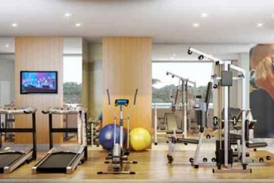 Imagem Ilustrativa da Sala de Fitness
