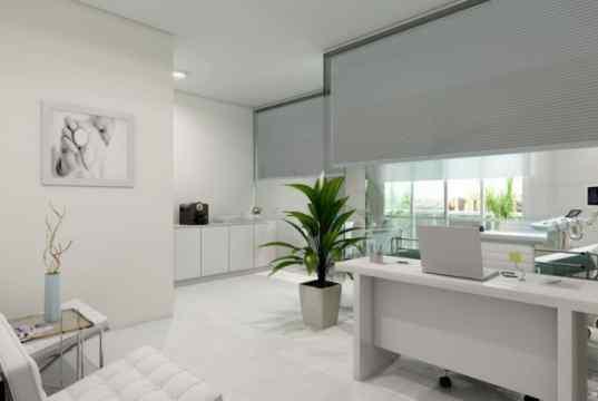 Imagem Ilustrativa de sala decorada de 39 m²
