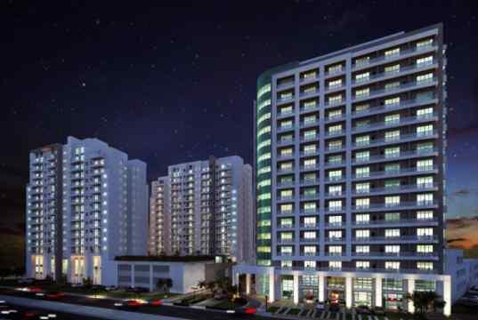 Imagem ilustrativa das fachadas - Vista noturna