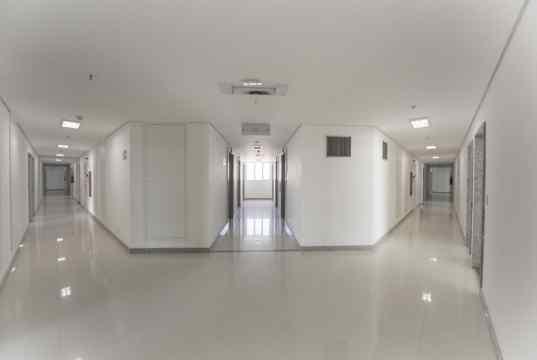 Hall de circulação das salas