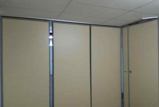 Portas removíveis wall system das Salas de Reuniões
