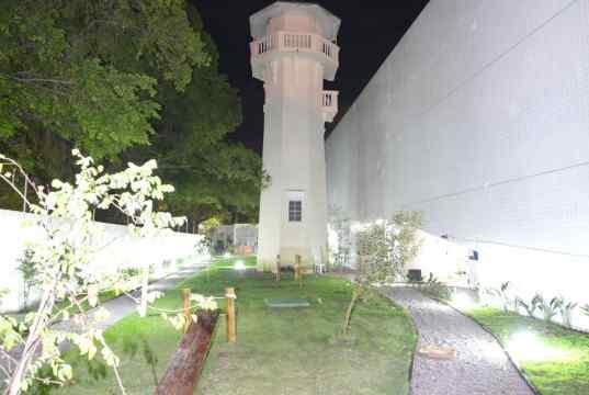 Imagem real do mirante preservado