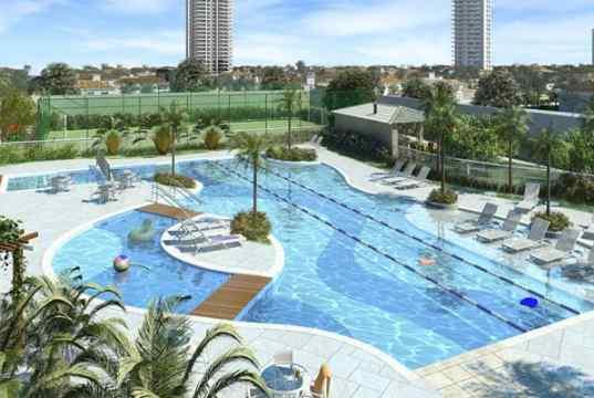 Imagem ilustrativa das piscinas