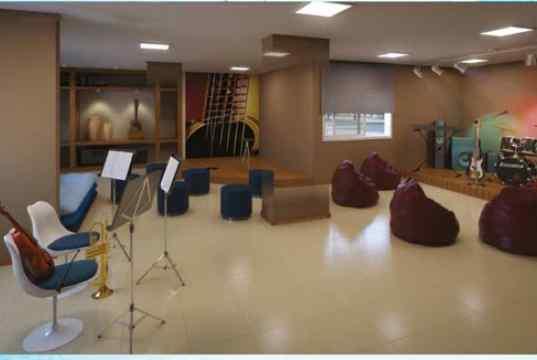 Imagem Ilustrativa da Sala de Música