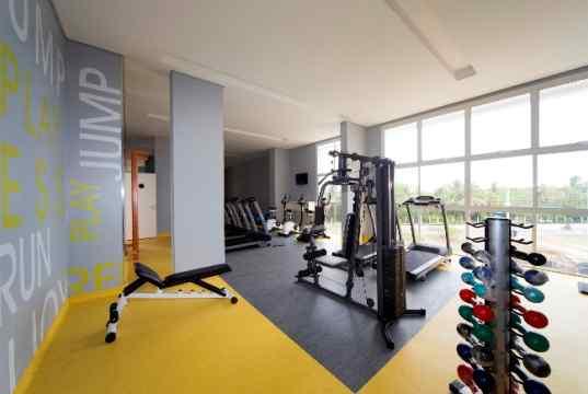 Imagem real do espaço fitness 2