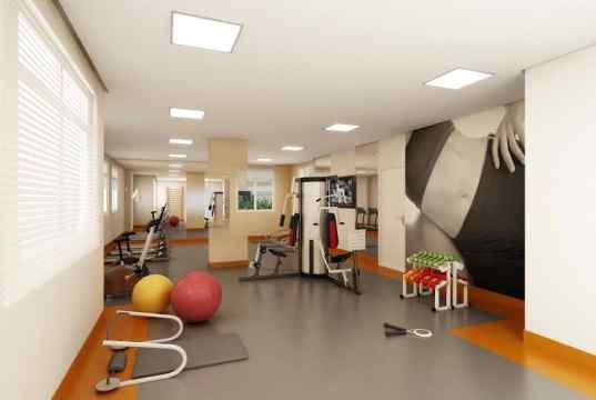 magem Ilustrativa da Sala de Fitness