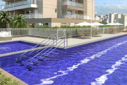 magem meramente ilustrativa da piscina com raia de 25m
